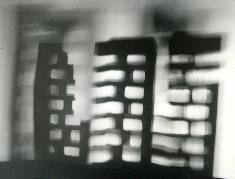 film 4x5 tirage par contact