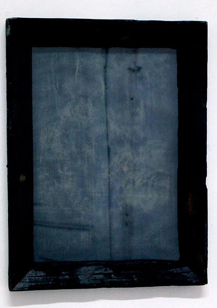"""""""Le purgatoire des étoiles"""" Cyanothype sur papier Canson"""