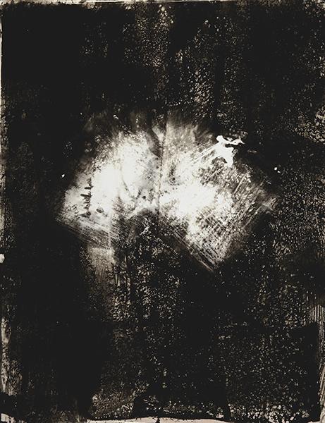 Chimigramme  50x60 sur papier rc brillant Ilford