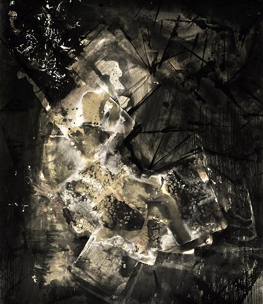 Chimigramme 60x70 sur papier rc Ilford